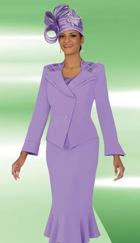 BM47705 ( 3pc PeachSkin Ben Marc Designer Sunday Suit )