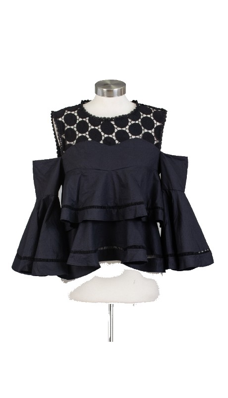 FT Inc CH1705 ( 1pc Ruffle Top )