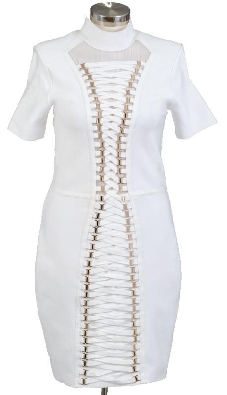 FT Inc SW5916 ( 1pc Tie Front Dress )