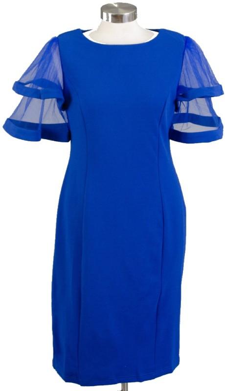 FT Inc CH9012 ( 1pc Sheer SLV Dress )