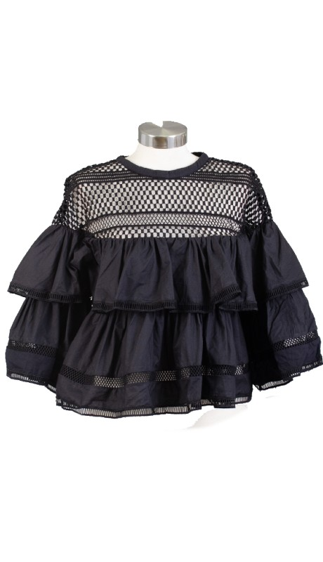 FT Inc CH9346 ( 1pc Ruffle Tier Top )