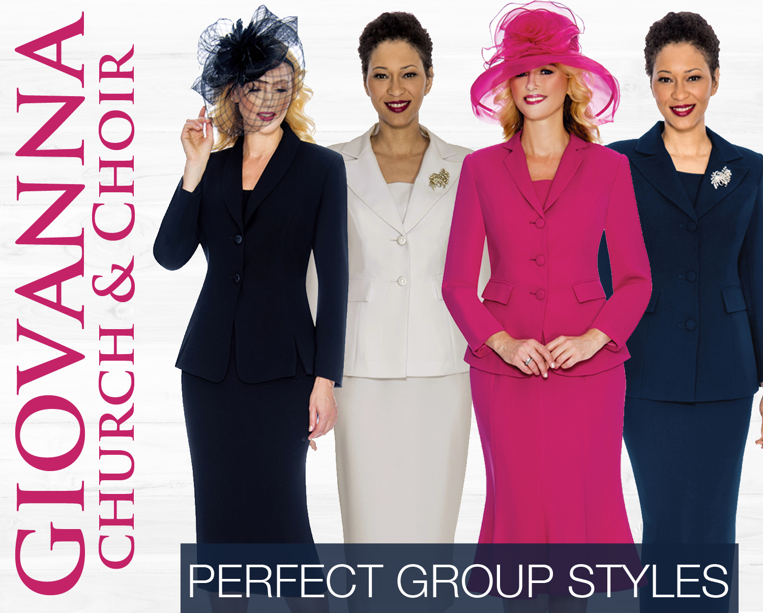 Giovanna Church And Choir Group Suits Spring And Summer 2019