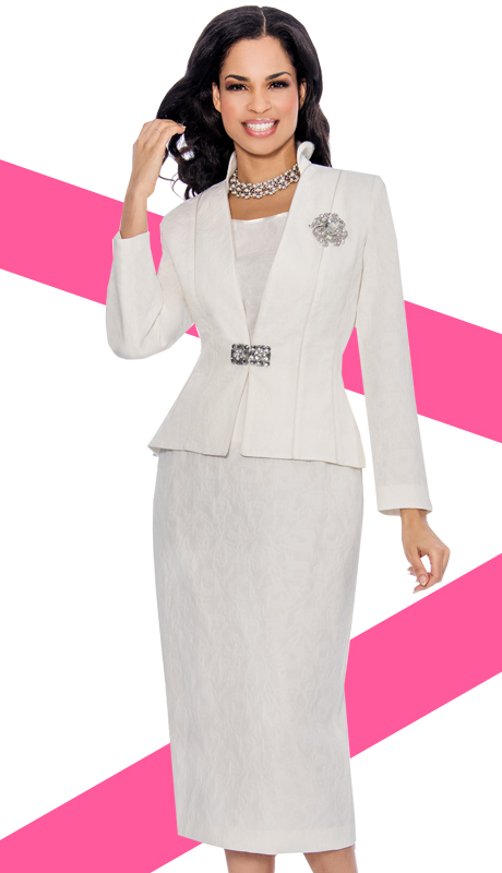 Giovanna 1031-OW ( 3pc PeachSkin Giovanna Womens Suit )