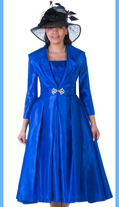Giovanna 1424-RO ( 2pc Shantung Giovanna Womens Dress )