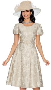Giovanna D1328-315 ( 1pc Brocade Dress For Church )