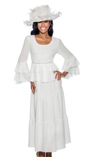 Giovanna D1490-315 ( 1pc Church Dress With Ruffle Trim )