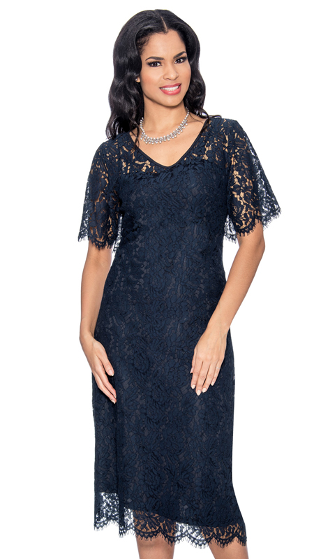 Giovanna D1333-N-215 ( 1pc Ladies Church Dress )