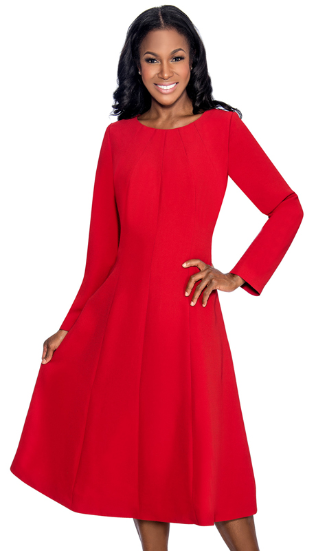 Giovanna 1451 ( 1pc Ladies Church Dress With Simple Styling )