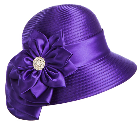 f26dc3471d20a Style  HR1036-PUR. Church Hat. Color  Purple