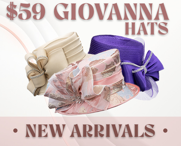 Giovanna Hats Spring And Summer 2018