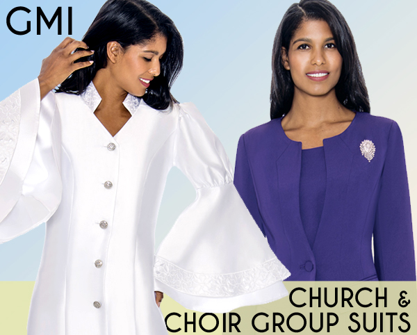 GMI Church And Choir Robes And Group Suits Spring And Summer 2021