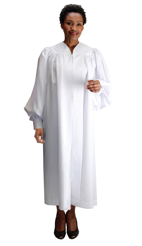 GMI RR9071-WH ( 1pc Baptismal Church Robe )