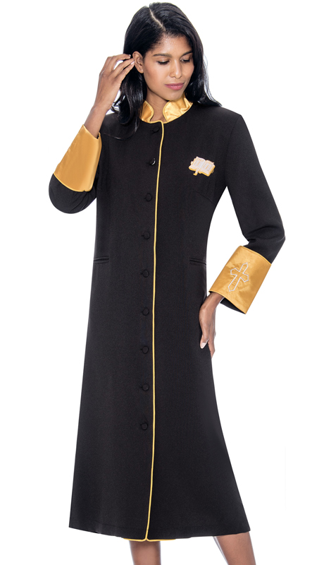 GMI RR9001-BK ( 1pc Womens Cassock Church Robe )