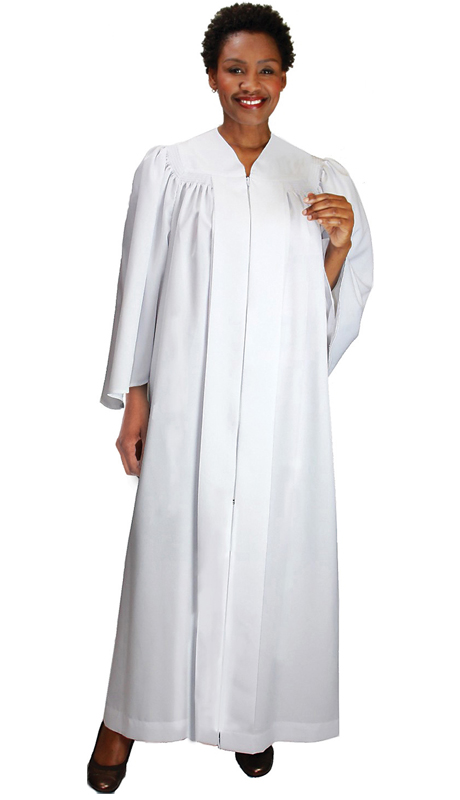 GMI RR9081-WH ( 1pc Bat Wing Baptismal Church Robe )