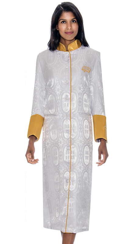GMI RR9501-WH ( 1pc Womens Cassock Church Robe )