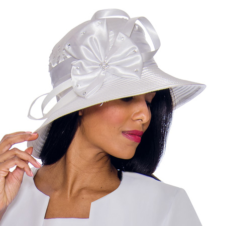 GMI Hat G7253-WH-CO ( Church Hat )