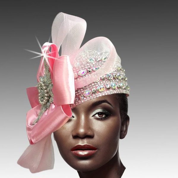 2188 ADORA-P ( Jewel Encrusted Flapper Hat )