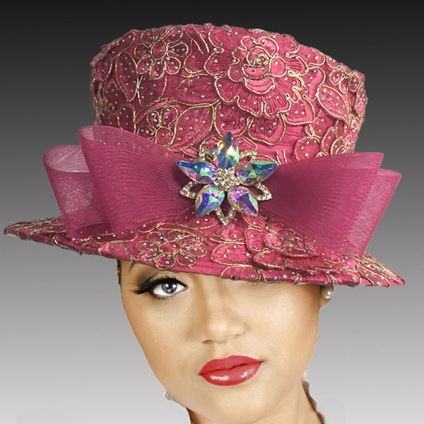 2519 MASON-F ( Embroidered and Jewel Lace Bucket )