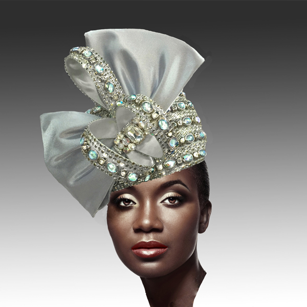 2188 ADORA-SIL ( Jewel Encrusted Flapper Hat )