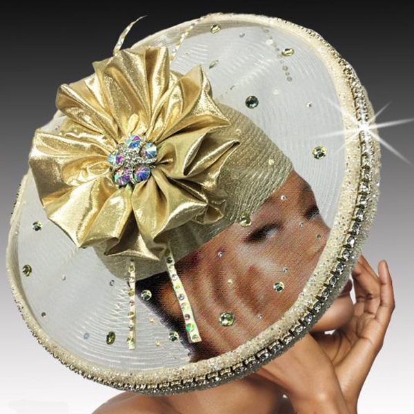 2532 VORTEX-G ( Illusion Jewel Ring Hat )
