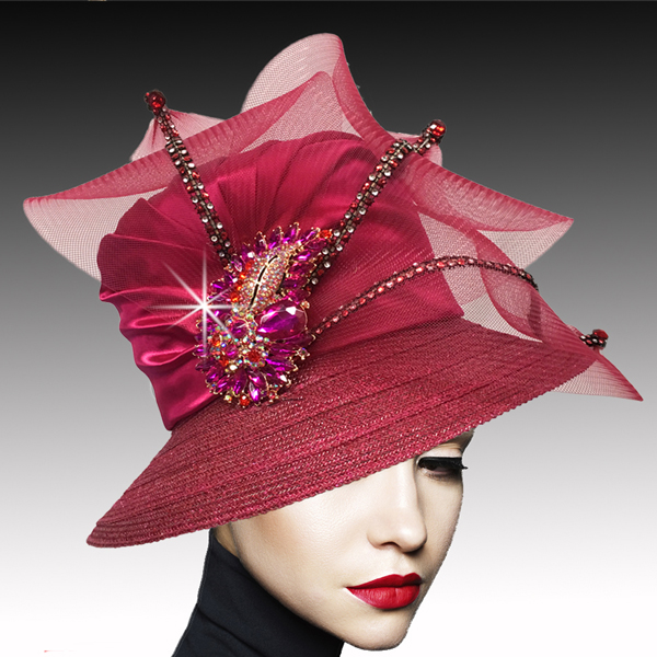 2533 MURPHY-F ( Classic Mesh Bucket with Jewel Leaves )
