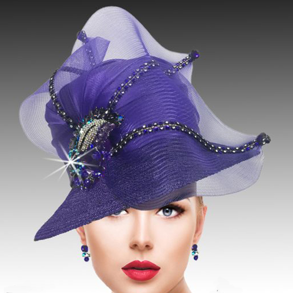 2533 MURPHY-P ( Classic Mesh Bucket with Jewel Leaves )