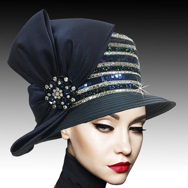 2501 PATRIOT-N ( Crystal Diamond Dust  Bucket Hat )