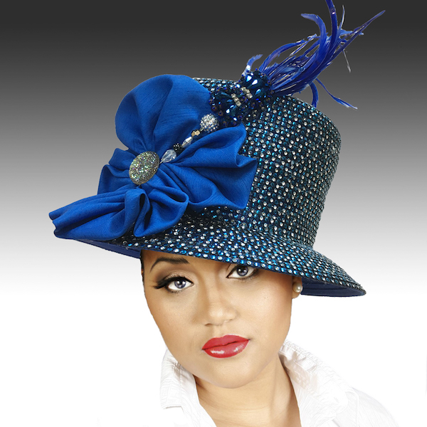 2150 Jerra-RO ( Crystal Bucket With Jeweled Hat Pin )