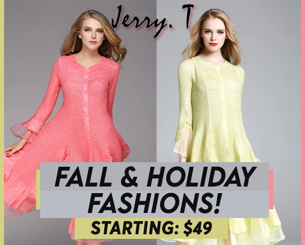 Jerry T High Style Fashions Fall And Holiday 2020