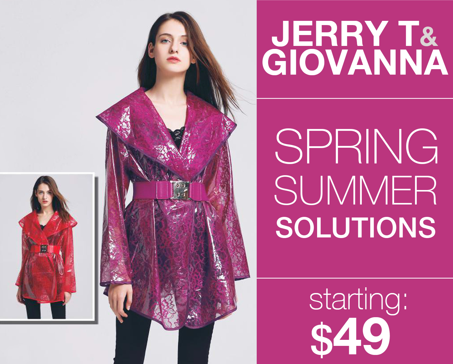 Jerry T With Giovanna High Style Fashions Fall And Hoiday 2018