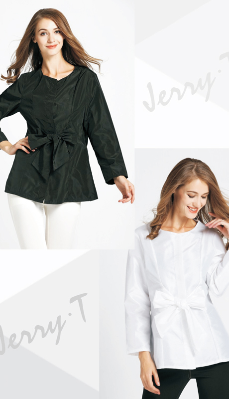 Jerry T SR 7178 ( 1pc Ladies Top With Elegant Bow )
