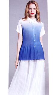 Jerry T 7153-BW ( 2pc Ladies Dress )