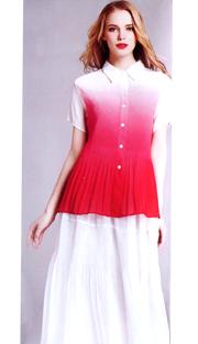 Jerry T 7153-RW ( 2pc Ladies Dress )