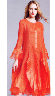 Jerry T 113-OR ( 1pc Ladies Dress )