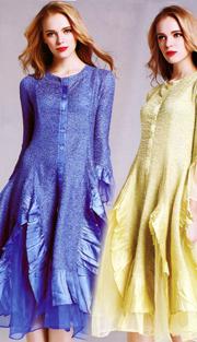 Jerry T 113-BL ( 1pc Ladies Dress )