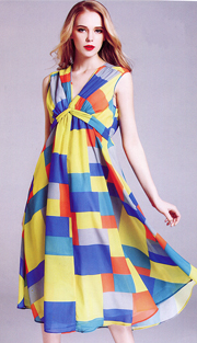 Jerry T 7159-YB ( 1pc Ladies Dress )