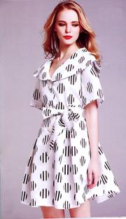Jerry T 7165-WB ( 1pc Ladies Dress )