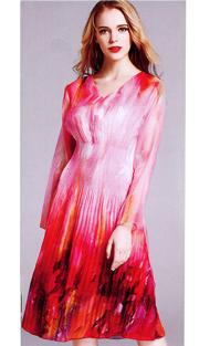 Jerry T 7163-PK ( 1pc Ladies Dress )