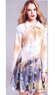 Jerry T 7164-YF ( 1pc Ladies Dress )