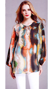 Jerry T 7156-OR ( 1pc Ladies Blouse )