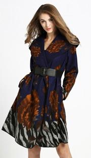 Jerry T 7180-BRN ( 1pc Ladies Jacket Dress )