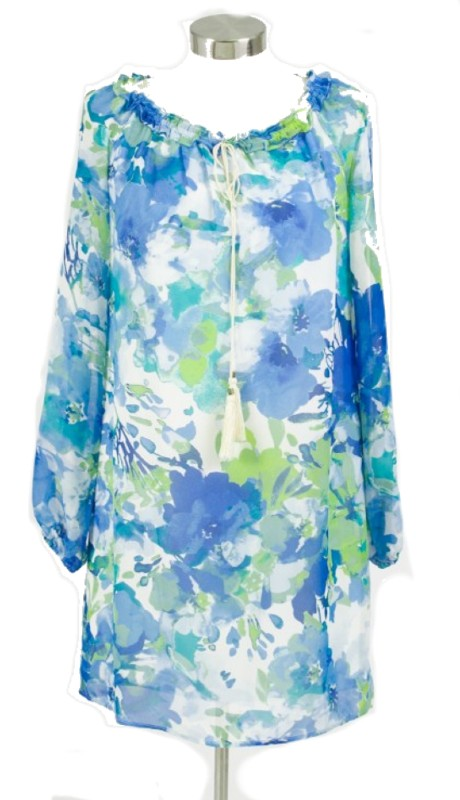 Karen Stevens 1708867 ( 1pc Draw String Neck Loose Tunic )