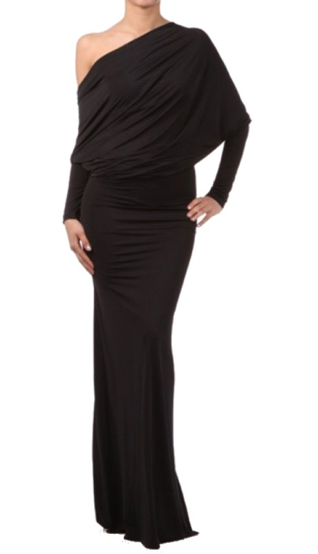 Karen T Designs 5017S ( 1pc Long Sleeve Multi Style Maxi Dress )