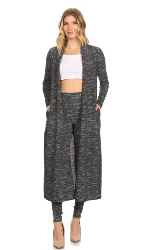 Karen T Designs 5020J ( 2pc Long Sleeve Duster Pant )