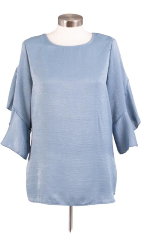 Karen T Designs 5069 ( 1pc Ruffle Sleeve Top )