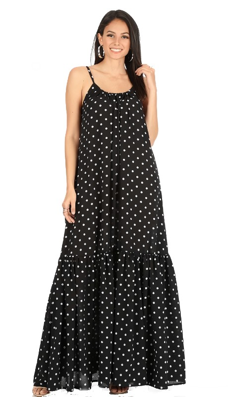 Karen T Designs 8028 ( 1pc Peasant Maxi Dress )