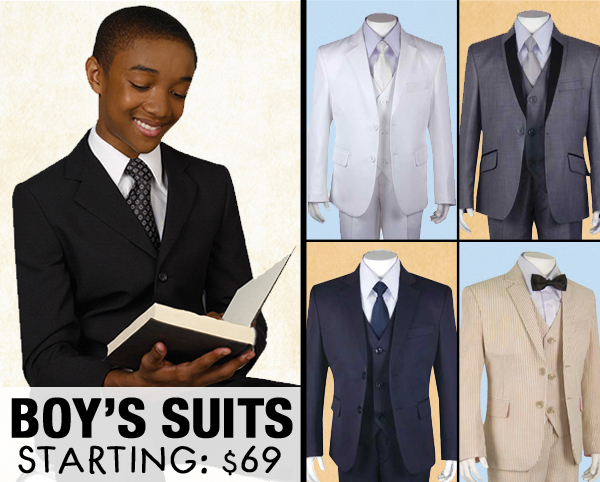 Boys Church Suits 2018