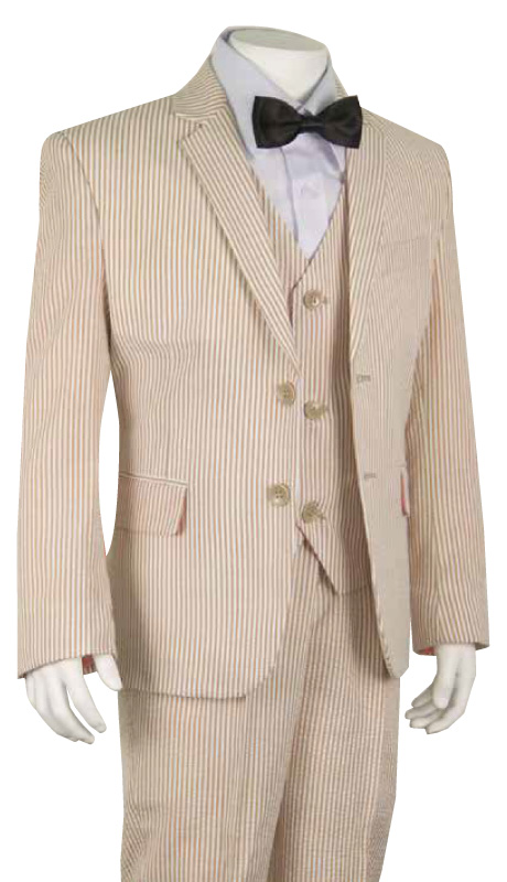 Boys Suit B-180-BEI-CO