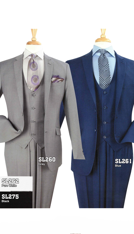 Iconic SL260 ( 3pc Luxury Mens Suit )