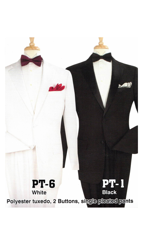 Iconic PT-1 ( 2pc Tuxedo With 2 Buttons And Single Pleated Pants )